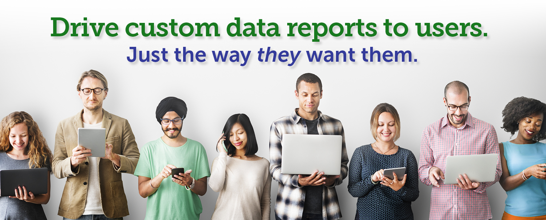 qfactor users receive custom reports
